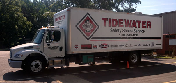 Tidewater Safety Shoes Mobile Shoe Service