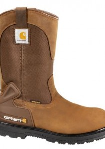 Men's 11-Inch Bison Waterproof Work Boot/Safety Toe by  Carhartt