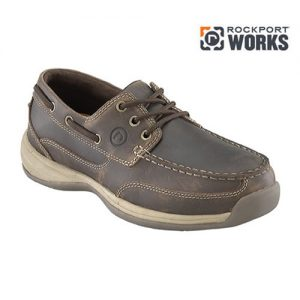 Sailing Club 3 Eye Tie Boat Shoe by Rockport