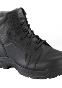 Men's More Energy 6″ Lace to Toe Waterproof Work Boot – Black by Rockport