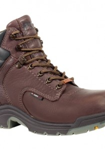 Women's PRO® TiTAN® WP 6-Inch Safety Toe – Dark Brown by Timberland