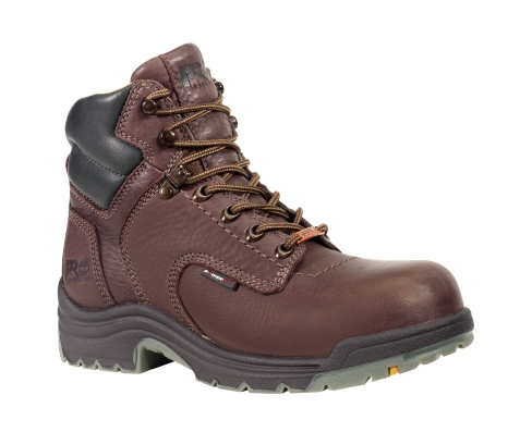 Women's Timberland PRO® TiTAN® WP 6-Inch Safety Toe - Dark Brown