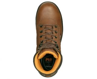 Women's Timberland PRO® TiTAN® 6-Inch Safety Toe - Nepal Coffee Top View