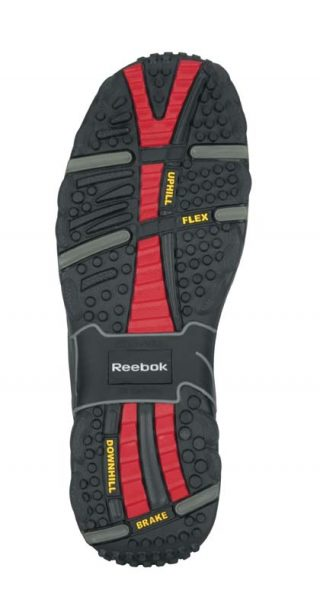 Men's Reebok Waterproof Sport Hiker Black Sole