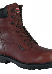 Men's 8″ Plain Toe Waterproof Work Boots by Iron Age