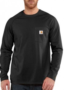 Men's Force™ Cotton Long-Sleeve T-Shirt by Carhartt