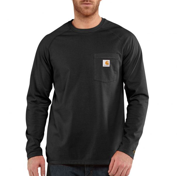 Men's Force™ Cotton Long-Sleeve T-Shirt