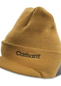Knit Hat with Visor by Carhartt
