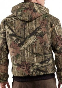 Men's Quilted-Flannel Lined Camo Active Jac by Carhartt