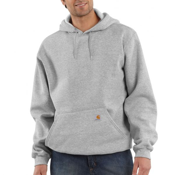 Men's Midweight Hooded Pullover Sweatshirt Front