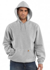 Men's Midweight Hooded Pullover Sweatshirt by Carhartt