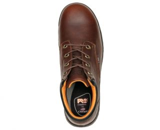 Men's Oxford Safety Toe Dark Brown by Timberland Top
