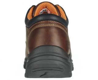 Men's Oxford Safety Toe Dark Brown by Timberland Back