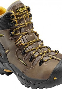Men's Pittsburgh Waterproof Steel Toe Safety Boot by Keen Utility