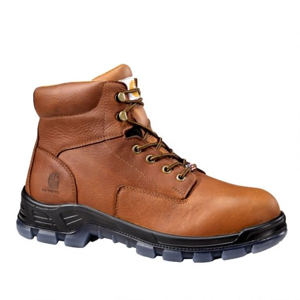 Men's 6 inch Brown Waterproof Work Boot Composite Toe by Carhartt