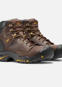 Men's 6 inch Mt. Vernon Steel Toe Waterproof Work Boot  by Keen