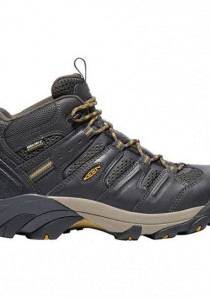 Men's Lansing Mid Steel Toe Waterproof Shoe by Keen