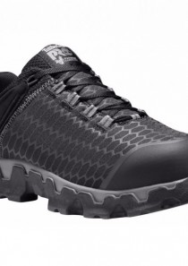 Men's Powertrain Sport Alloy Toe Safety Shoe Black by Timberland