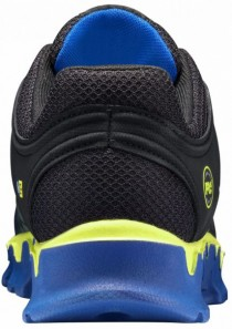 Men's Powertrain Sport Alloy Toe Safety Shoe Blue/Yellow/Black by Timberland
