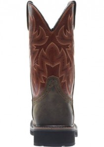 Men's Rancher Waterproof Steel-Toe Wellington in Rust/Brown by Wolverine