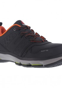 Men's DMX Flex Work Shoe – Black & Orange by Reebok