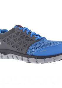 Men's Sublite Cushion Work Shoe – Blue & Grey by Reebok