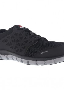 Men's Sublite Cushion Work Shoe – Black by Reebok