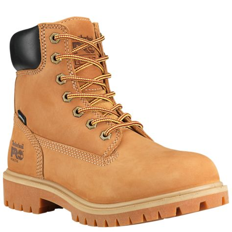Women's 6 inch Direct Attach Steel Toe Safety Boot - Brown by Timberland