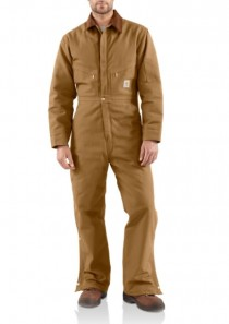 Men's Duck Coveralls / Quilt-Lined by Carhartt