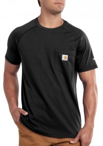 Men's Force® Cotton Delmont Short-Sleeve T-Shirt by Carhartt