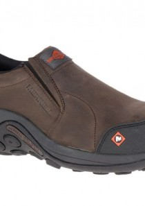 Men's Jungle Moc Comp Toe Work Shoe by Merrell Work