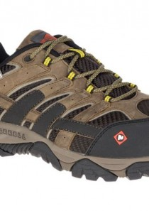 Men's Moab 2 Vent Waterproof Comp Toe Work Shoe by Merrell Work