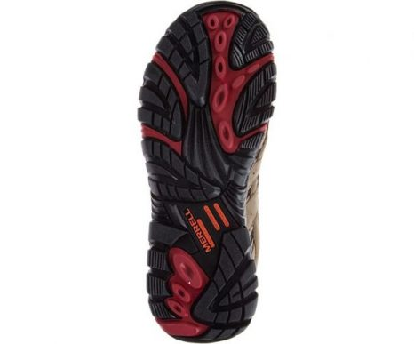 Womens Moab 2 Vent Mid Waterproof Comp Toe Work Shoe by Merrell Work OUT