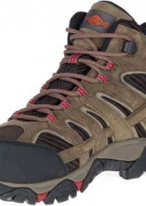 Women's Moab 2 Vent Mid Waterproof Comp Toe Work Shoe by Merrell Work