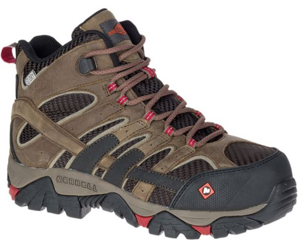 b9164547377 Tidewater Safety Shoes Women s Moab 2 Vent Mid Waterproof Comp Toe ...