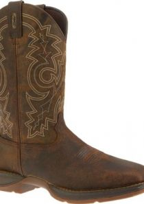 Rebel Toe Pull-On Western Boot by Durango Steel