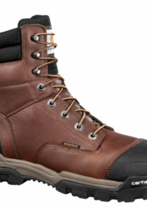 Men's 8 inch Brown Ground Force Work Boot Composite Toe by Carhartt