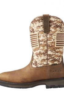 Men's Workhog Patriot Pull-on Steel Toe by Ariat