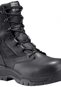 Men's Valor™ Duty 8″ Side-Zip Comp Toe Boots by Timberland PRO®