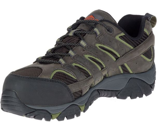 Men S Moab  Vent Waterproof Comp Toe Work Shoe Wide