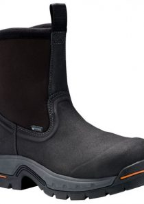 Men's Stockdale Alloy Toe Wellington Black Work Boots Timberland PRO®