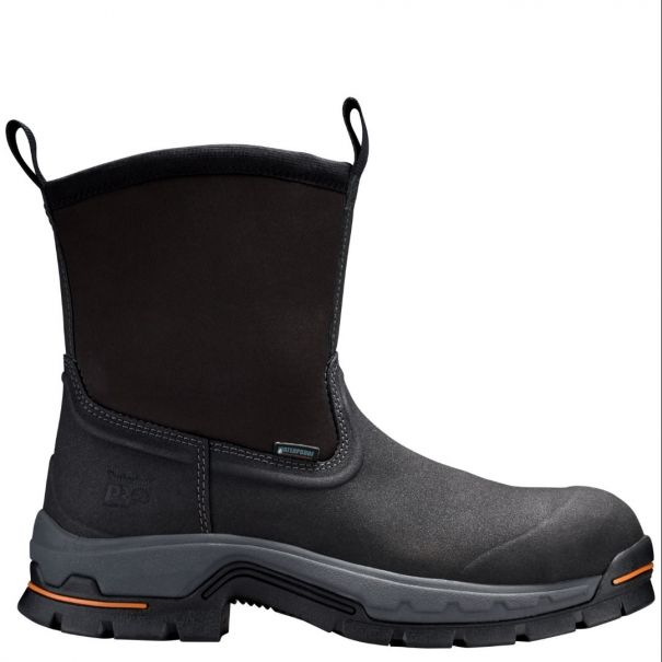 ae02be4596c Men's Stockdale Alloy Toe Wellington Black Work Boots Timberland PRO®