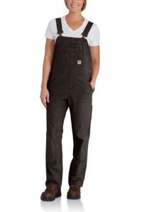 Women's Crawford Double Front Bib Overall by Carhartt