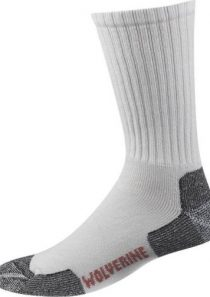 Men's Steel Toe Dry Comfort Acrylic Boot Sock by Wolverine