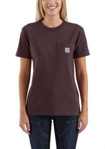 Women's WK87 Workwear Short-Sleeve Pocket T-Shirt by Carhartt
