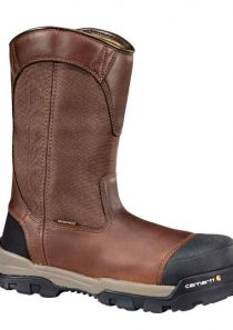 Men's Ground Force 10 INCH Composite Toe Wellington Work Boot/Safety Toe by Carhartt