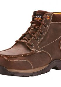Edge LTE 5 Inch Waterproof Composite Toe Chukka in Brown by Ariat