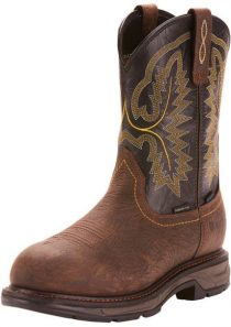 Men's WorkHog XT 10 Inch Waterproof Carbon Toe Wellington by Ariat