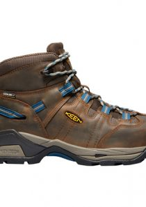 Men's Detroit Waterproof Steel Toe Safety Shoe by Keen Utility