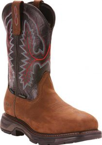 Men's WorkHog XT Wide Square Carbon Toe H2O Cowboy Boot by Ariat